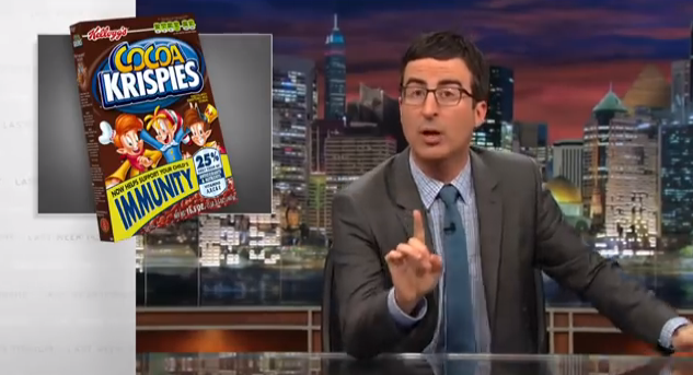 John Oliver - Food Labels