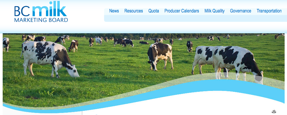 Screen Shot BC Milk Marketing Board 2014-06-26